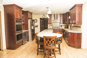 Custom Remodeled Kitchen in Monroeville, Murrysville, Greensburg and Pittsburgh PA
